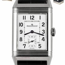 Jaeger-LeCoultre Steel Automatic Silver 27.4mm pre-owned Reverso Classique
