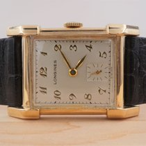 Longines Yellow gold 25mm Manual winding pre-owned