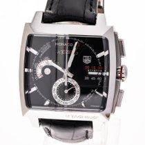 TAG Heuer Monaco Calibre 12 Acero 40.5mm Negro Sin cifras