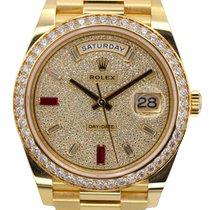 Rolex Day-Date 40 228348RBR Unworn Gold/Steel 40mm Automatic United Kingdom, N3 2DN