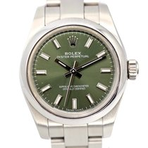 Rolex Oyster Perpetual 26 Otel 26mm Verde