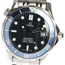 Omega Seamaster Diver 300 M Acero 36mm Azul