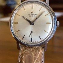 Zenith Acier Remontage manuel Argent Sans chiffres 34mm occasion Stellina
