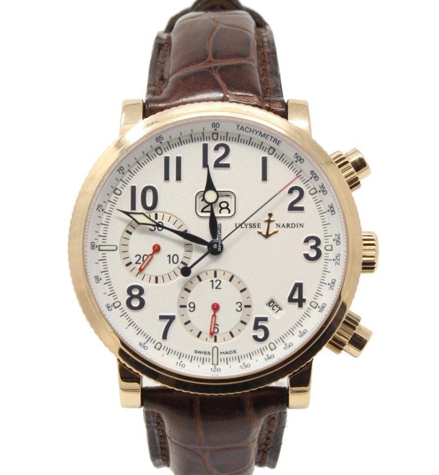 Ulysse Nardin Marine Chronograph 516-22 pre-owned