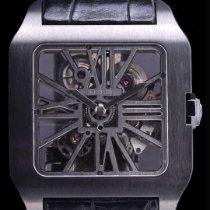 Cartier Titanium Manual winding Black pre-owned Santos Dumont
