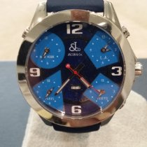 Jacob & Co. Five Time Zone Steel 47mm Blue Arabic numerals United States of America, Arizona, Kingman