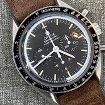 Omega Speedmaster Professional Moonwatch Otel 42mm Negru Fara cifre