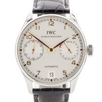 IWC Portuguese Automatic Steel 40mm White Arabic numerals