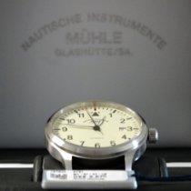 Mühle Glashütte Terrasport II Steel 40mm Champagne Arabic numerals United States of America, Pennsylvania, reading