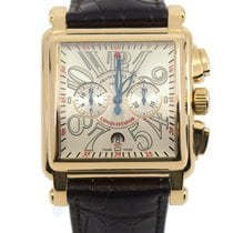 Franck Muller Conquistador Cortez Yellow gold 41mm Black Arabic numerals United States of America, New York, New York