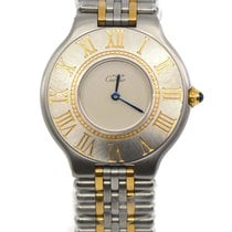 Cartier 21 Must de Cartier Gold/Steel 31mm Silver Roman numerals United States of America, New York, New York