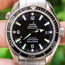 Omega Seamaster Planet Ocean Steel 42mm Black Arabic numerals United States of America, Texas, Plano