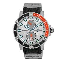 Ulysse Nardin Titanium Automatic Arabic numerals 45mm pre-owned Maxi Marine Diver