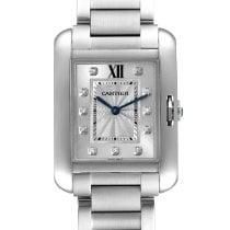 Cartier Tank Anglaise new Quartz Watch with original box and original papers W4TA0004