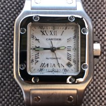 Cartier 2423 Steel Santos Galbée 24mm pre-owned