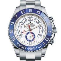 Rolex Yacht-Master II Acier 44mm Blanc Sans chiffres France, Paris