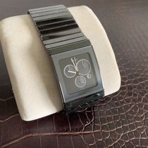 Rado Ceramica pre-owned 35mm Black Chronograph Date Ceramic