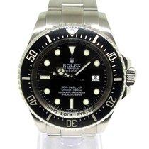 Rolex Sea-Dweller Deepsea Acero 44mm Negro Sin cifras España, Marbella