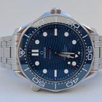 Omega Seamaster Diver 300 M Staal 42mm Blauw Geen cijfers Nederland, oirschot