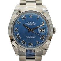 Rolex (ロレックス) Datejust 新品 自動巻き 正規のボックスと正規の書類付属の時計 126300