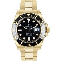 Rolex Submariner 126618LN Nenošeno Zuto zlato 41mm Automatika