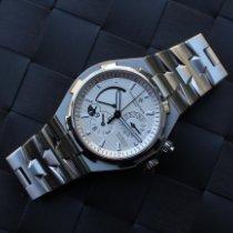 Vacheron Constantin Overseas Dual Time Staal 42mm Wit Geen cijfers