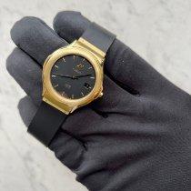 Hublot Elegant Gelbgold 36mm Schwarz Keine Ziffern