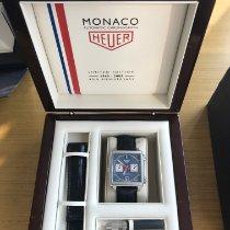 TAG Heuer Monaco Calibre 11 Acero 38mm Azul