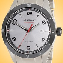 Montblanc Timewalker Steel 41mm Silver Roman numerals United States of America, Illinois, Northfield