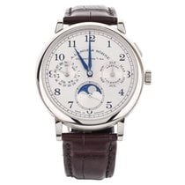 A. Lange & Söhne 1815 White gold 40mm Silver United States of America, Illinois, BUFFALO GROVE