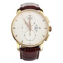 Mido Yellow gold 43mm Automatic Baroncelli Chronograph pre-owned United States of America, Illinois, BUFFALO GROVE