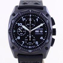 Junghans Meister Pilot Steel 42mm Black Arabic numerals
