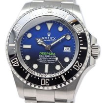 롤렉스 씨드웰러 딥씨 신규 자동 시계 및 정품 박스와 서류 원본 126660