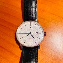 Rado Coupole Staal 41mm Wit Geen cijfers