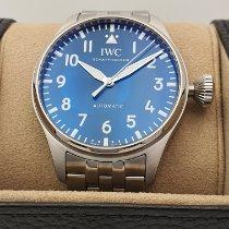 IWC Große Fliegeruhr Stahl 43mm Blau Österreich, Linz