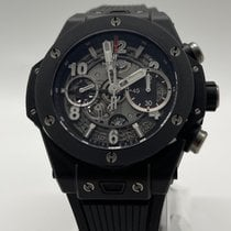 Hublot Big Bang Unico pre-owned 42mm Transparent Chronograph Flyback Rubber