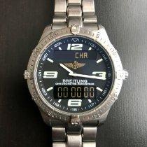Breitling Aerospace Titanium 40mm Zwart Arabisch