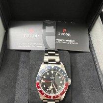 Tudor Black Bay GMT Steel 41mm Black No numerals Malaysia, BAYAN LEPAS