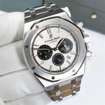 Audemars Piguet Royal Oak Chronograph Steel 41mm Silver No numerals