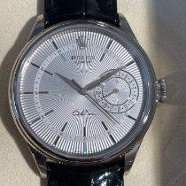 Rolex Cellini Date Oro bianco 39mm Argento Senza numeri Italia, Torino