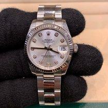 Rolex Lady-Datejust Acciaio 31mm Argento Italia, Milano