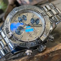 Breitling Superocean Chronograph II Staal 42mm Wit Geen cijfers Nederland, Goor