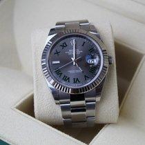 Rolex 126334-0021 Steel 2021 Datejust 41mm new