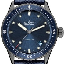 Blancpain Fifty Fathoms Bathyscaphe new 2021 Automatic Watch with original box and original papers 5000-0240-052A