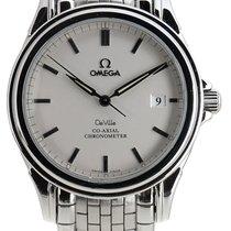 Omega De Ville Co-Axial Çelik 37mm Gümüş