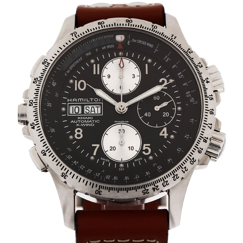 Hamilton Khaki X-Wind NUMBER H77616533 2000 pre-owned