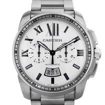 Cartier Calibre de Cartier Chronograph Steel 42mm White United States of America, Florida, Miami