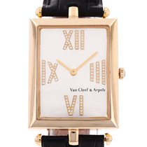 Van Cleef & Arpels Yellow gold 27mm Quartz NUMBER HH18403 pre-owned United States of America, Florida, Miami
