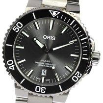 Oris Aquis Titanium Date Titanium 43mm Black