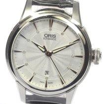 Oris Artelier Date Steel 31mm Silver